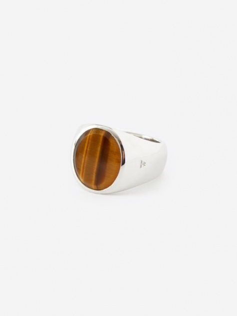 Oval Ring - Tigers Eye
