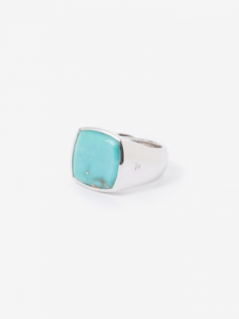Cushion Ring - Turquoise