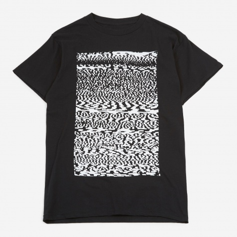 Black Static S/S T-Shirt - Black