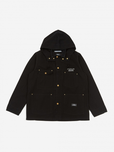 Duck Coverall / C-Jacket - Black