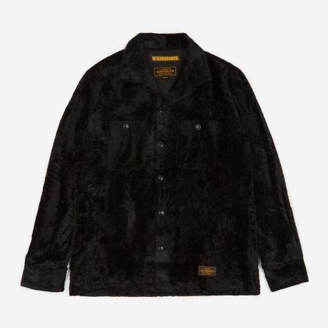 Fur / R-Shirt - Black