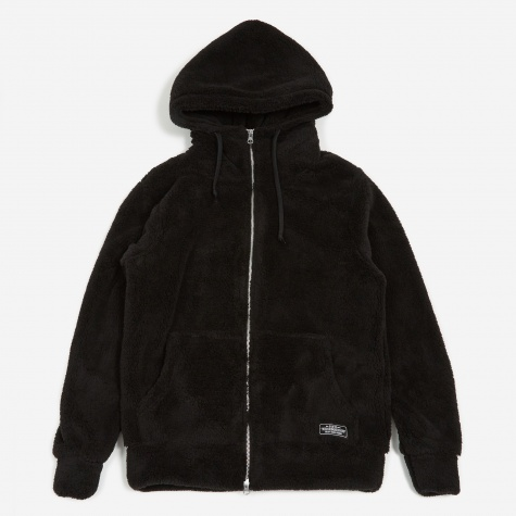Wavy Bone / E-Hooded - Black