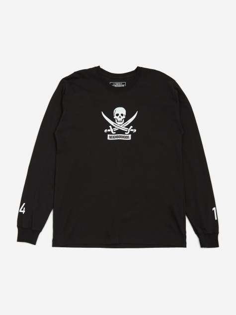 Filth and Fury / Longsleeve C-T-Shirt - Black