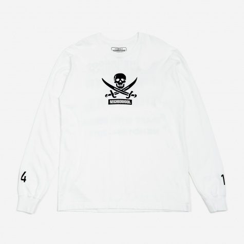 Filth and Fury / Longsleeve C-T-Shirt - White