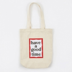Have A Good Time Frame Tote Bag - Natural