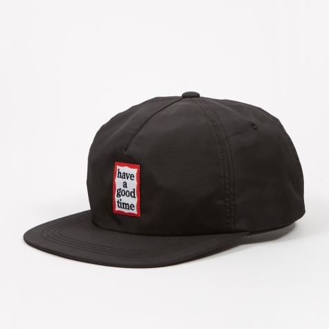 Fat Visor Cap - Black
