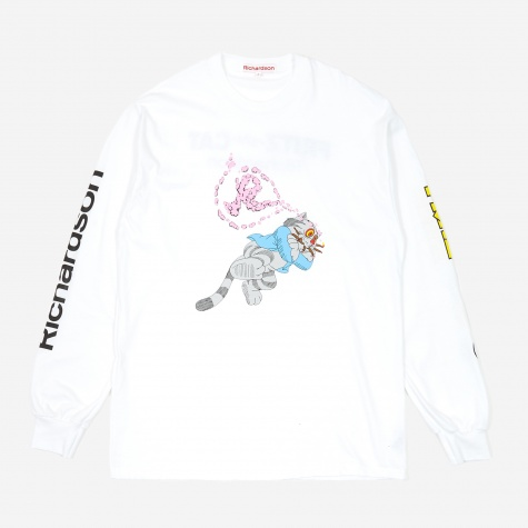 Fritz The Cat Smoked Out Longsleeve T-Shirt - White