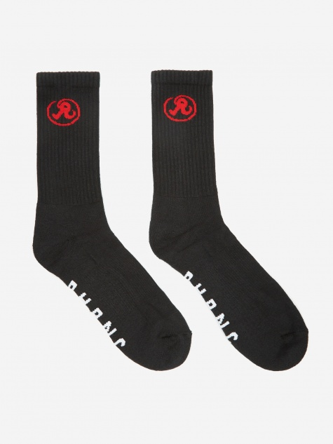 Glyph Crew Socks - Black