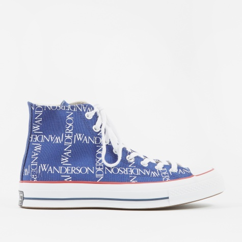 x JW Anderson Chuck Taylor All Star 70 Hi - Blue