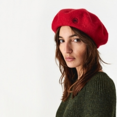 Goods By Goodhood Beret - Red/Black