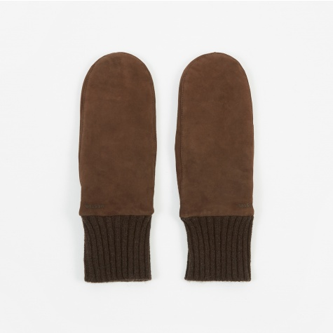 Tina Suede Glove - Brown