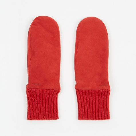 Tina Suede Glove - Red