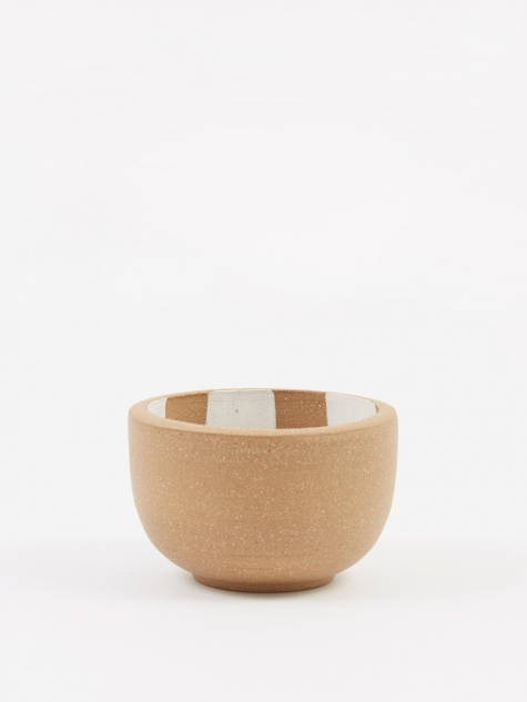 Incense Bowl Medium - Light Brown Inside Check