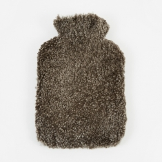 Natures Collection Sheepskin Hot Water Bottle - Cappuccino