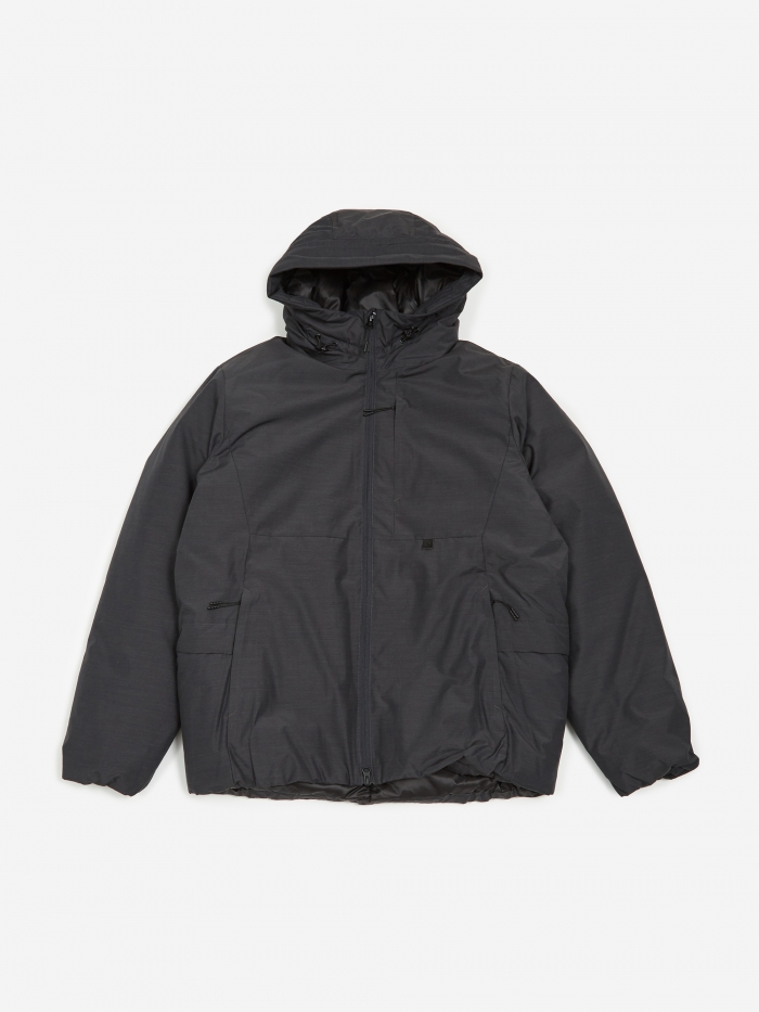 Snow Peak FR Down Jacket - Black (Image 1)