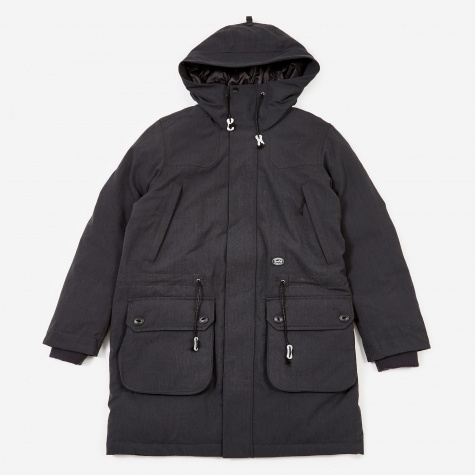 TAKIBI Down Jacket - Black