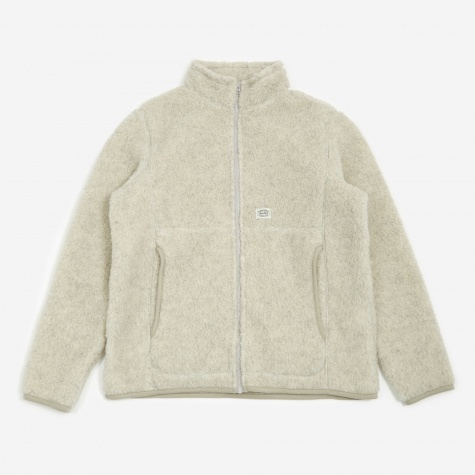 Wool Fleece Jacket - White