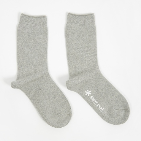 Full Pile Long Sox - Grey