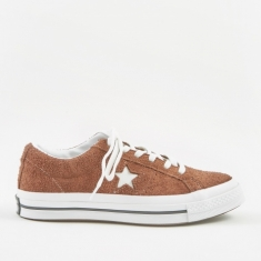 Converse One Star Ox - Chocolate/White