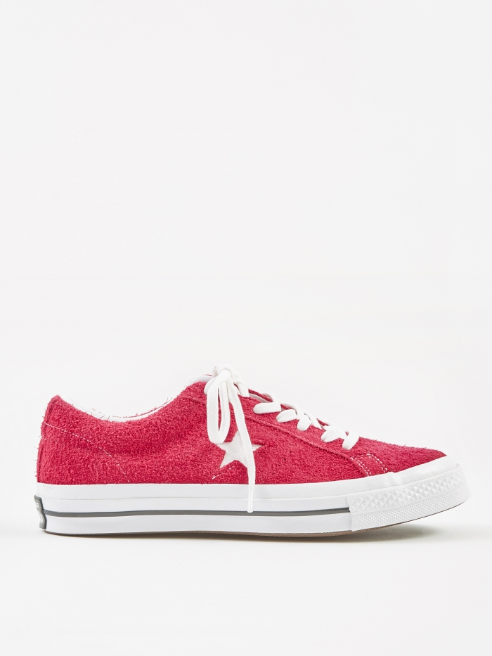 Converse One Star Ox - Pink Pop/White (Image 1)