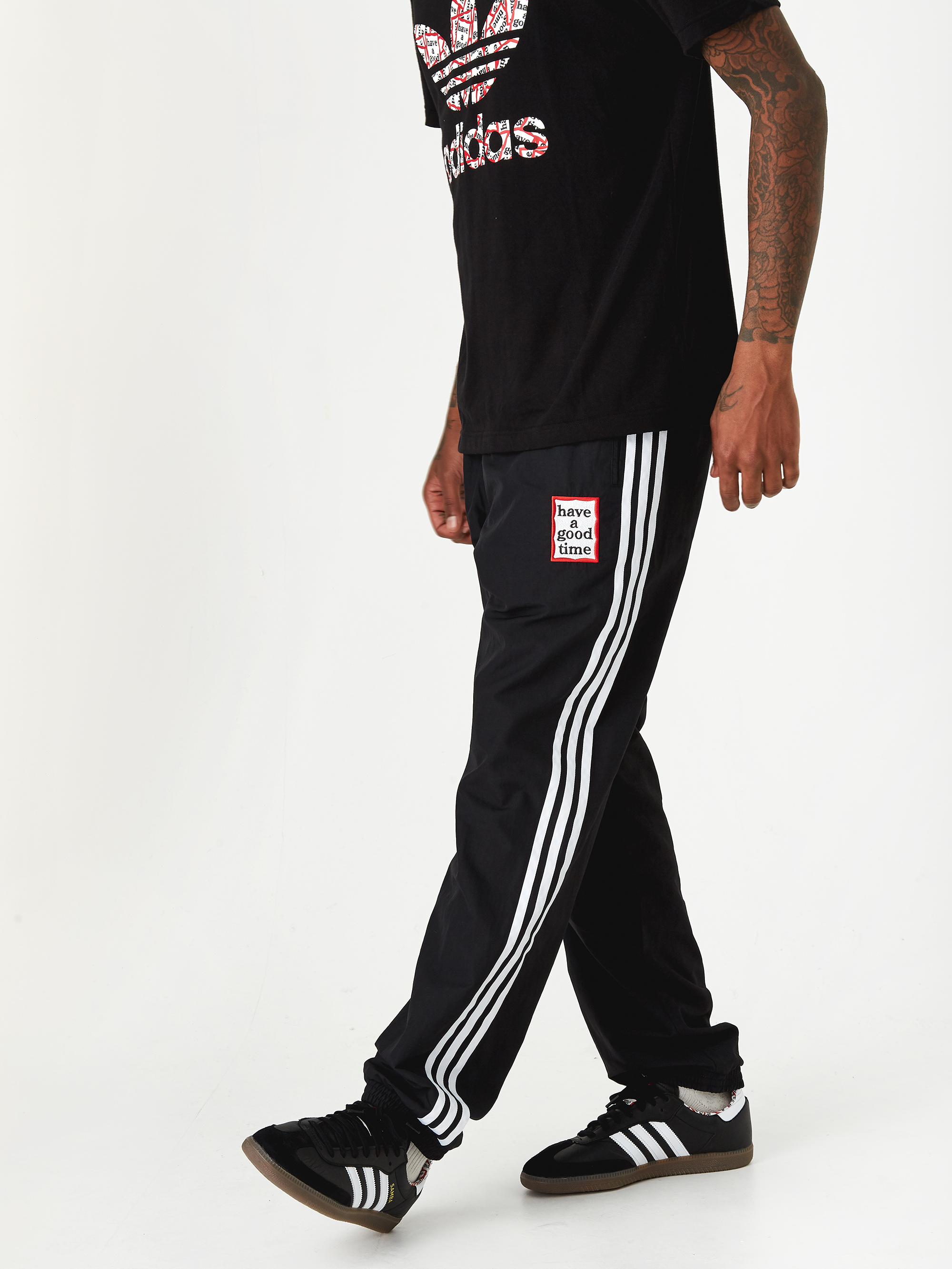 77f7c15cbae Adidas x Have A Good Time Reversible Track Pant - Multi