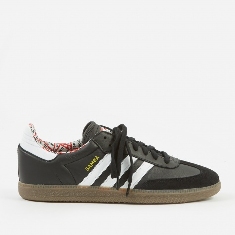 x Have A Good Time Samba - Black/White/Gum