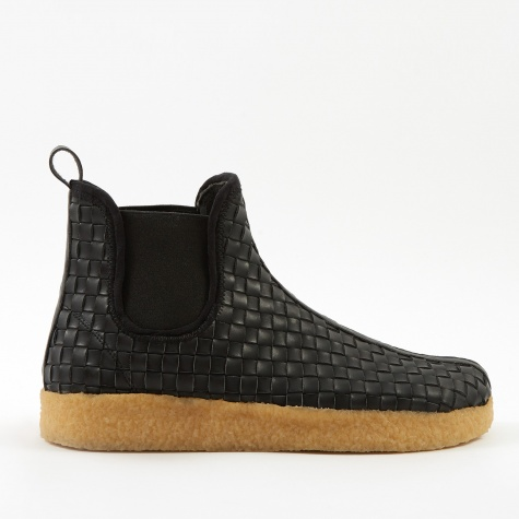 Garden Boot - Black/Natural