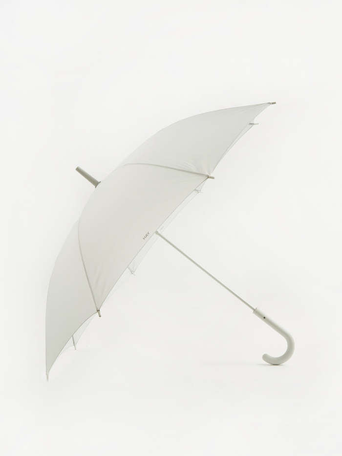 HAY Mono Umbrella - Light Grey (Image 1)