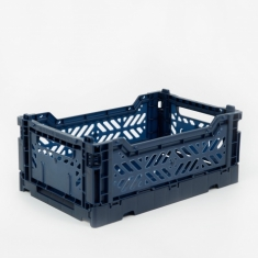 Hay Colour Crate Small - Navy