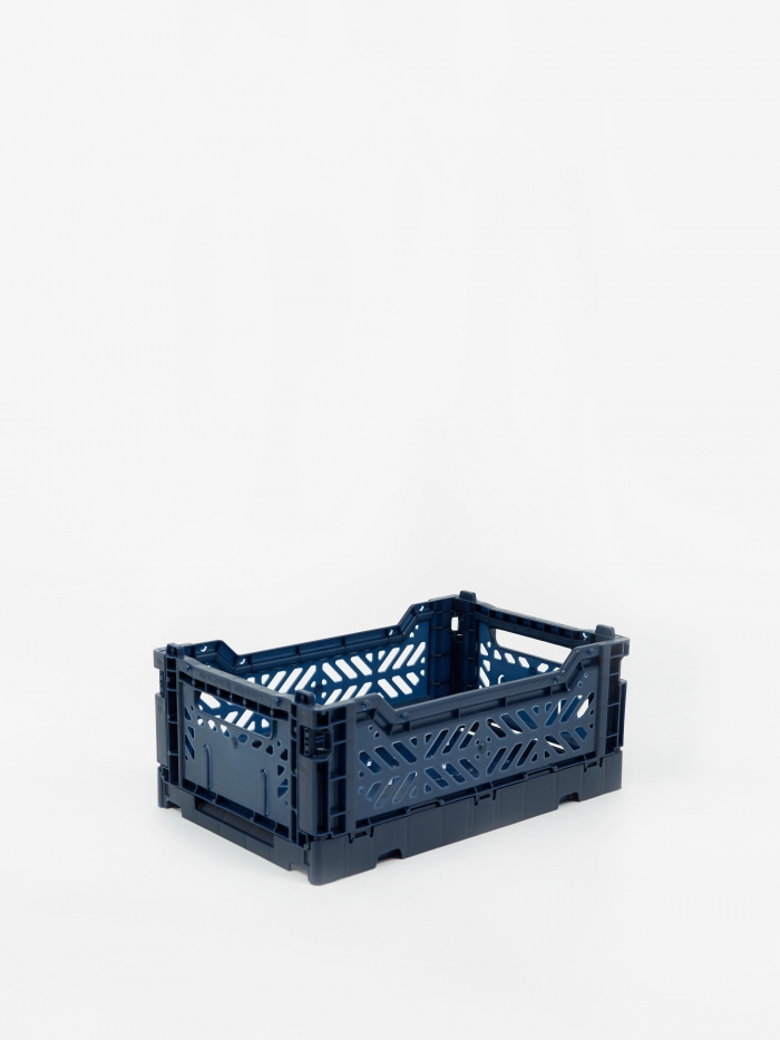HAY Colour Crate Small - Navy (Image 1)