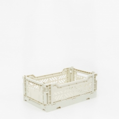 Hay Colour Crate Small - Light Grey