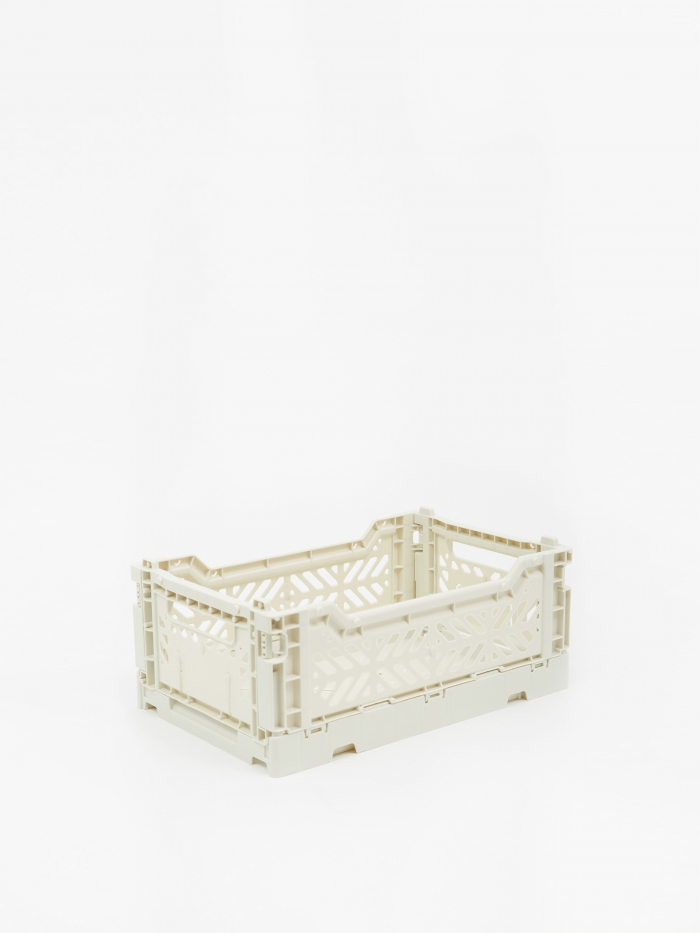 HAY Colour Crate Small - Light Grey (Image 1)