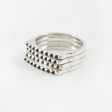 Stackable Ring - Silver