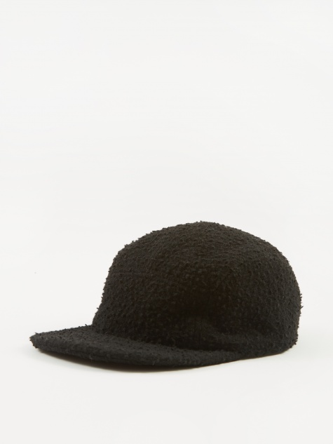 Casentino Wool Trail Cap - Black