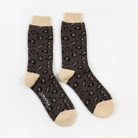 Safari Sock - Charcoal