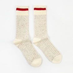 Maple Heritage Sock - Beige