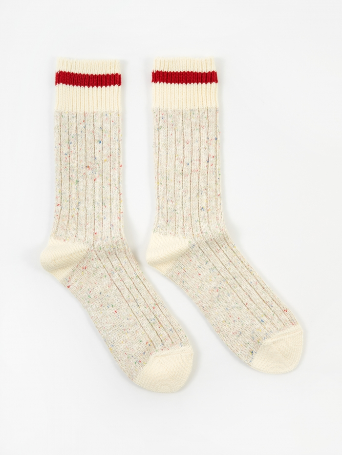 Maple Heritage Sock - Beige (Image 1)