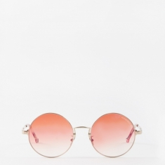 Cutler And Gross 1272-03 Sunglasses - Rose Gold/Tropicana