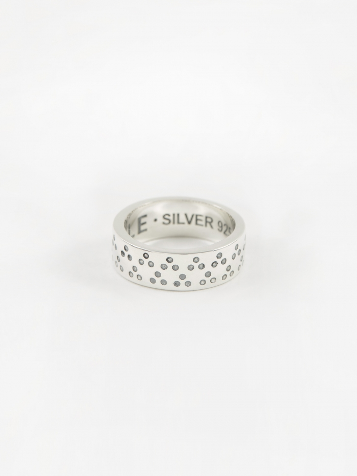 Maple Dots Ring - Silver (Image 1)