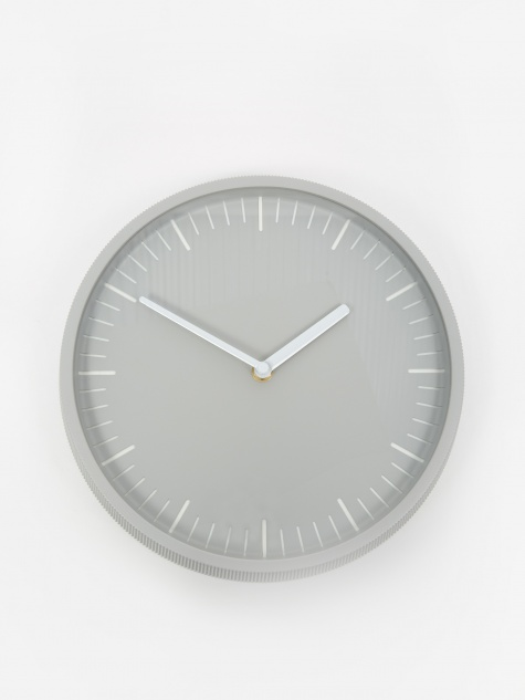Day Wall Clock - Light Grey