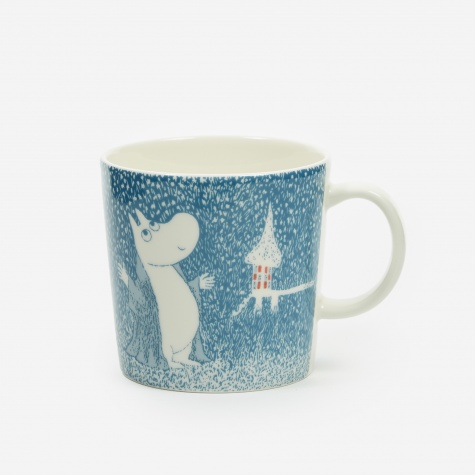 Arabia Moomin Mug 0.3L - Light Snowfall