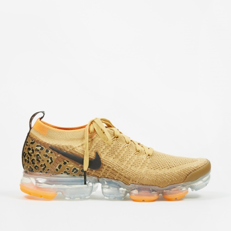 Air Vapormax Flyknit 2 - Club Gold/Black-Golden Beige