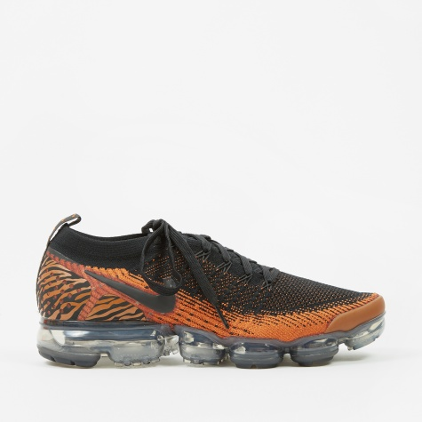 Air Vapormax Flyknit 2 - Desert Orange/Black-Total Orange