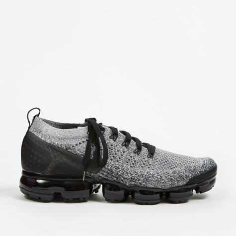 Air Vapormax Flyknit 2 - White/Black-Black