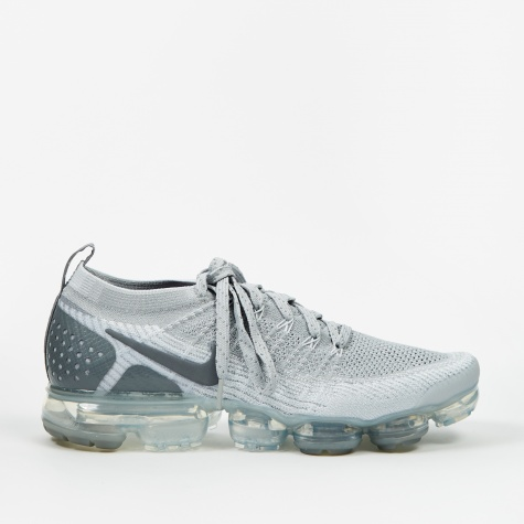 Air Vapormax Flyknit 2 - Wolf Grey/Pure Platinum-Total Oran