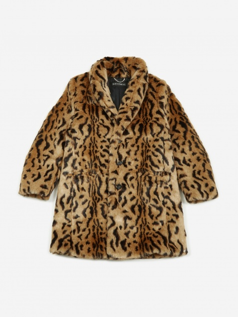 Chesterfield Coat - Leopard