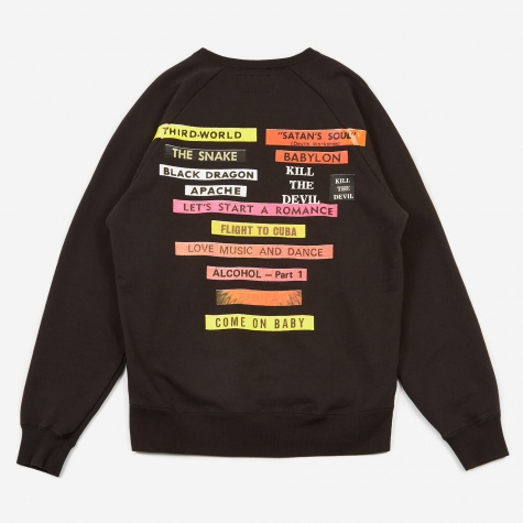 Washed Heavy Weight Crewneck Sweatshirt (Type-6) - B
