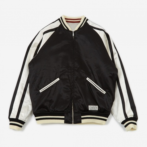 Reversible SKA Jacket -A- (Type-3) - Silver/Black