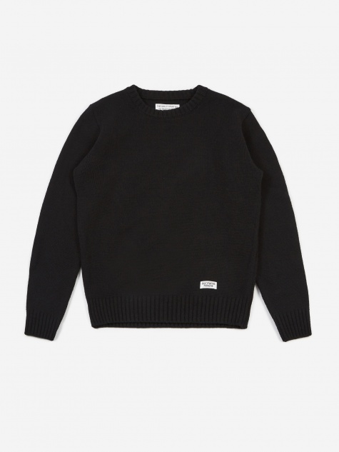 Classic Crewneck Sweater - Black