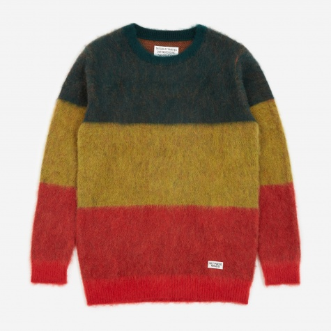 Striped Mohair Sweater - Rasta